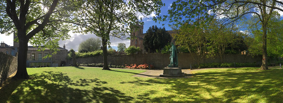 Rose Garden Linlithgow Burgh Halls